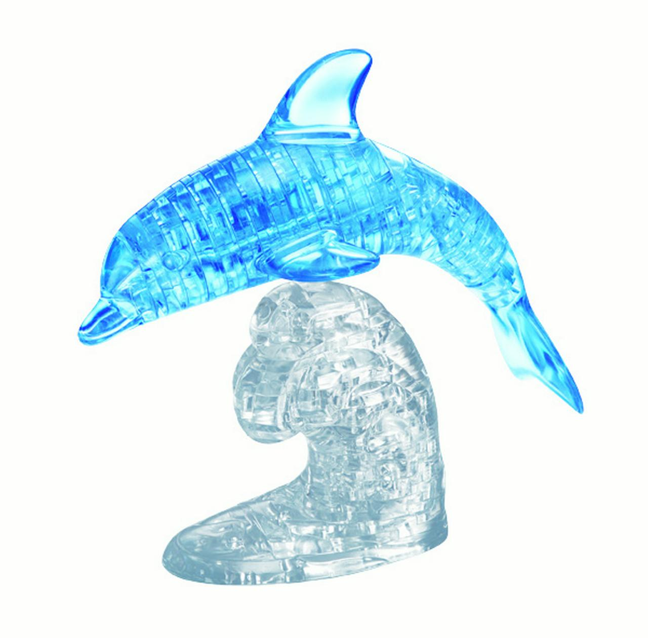 Deluxe 3D Crystal Puzzle - Blue Dolphin
