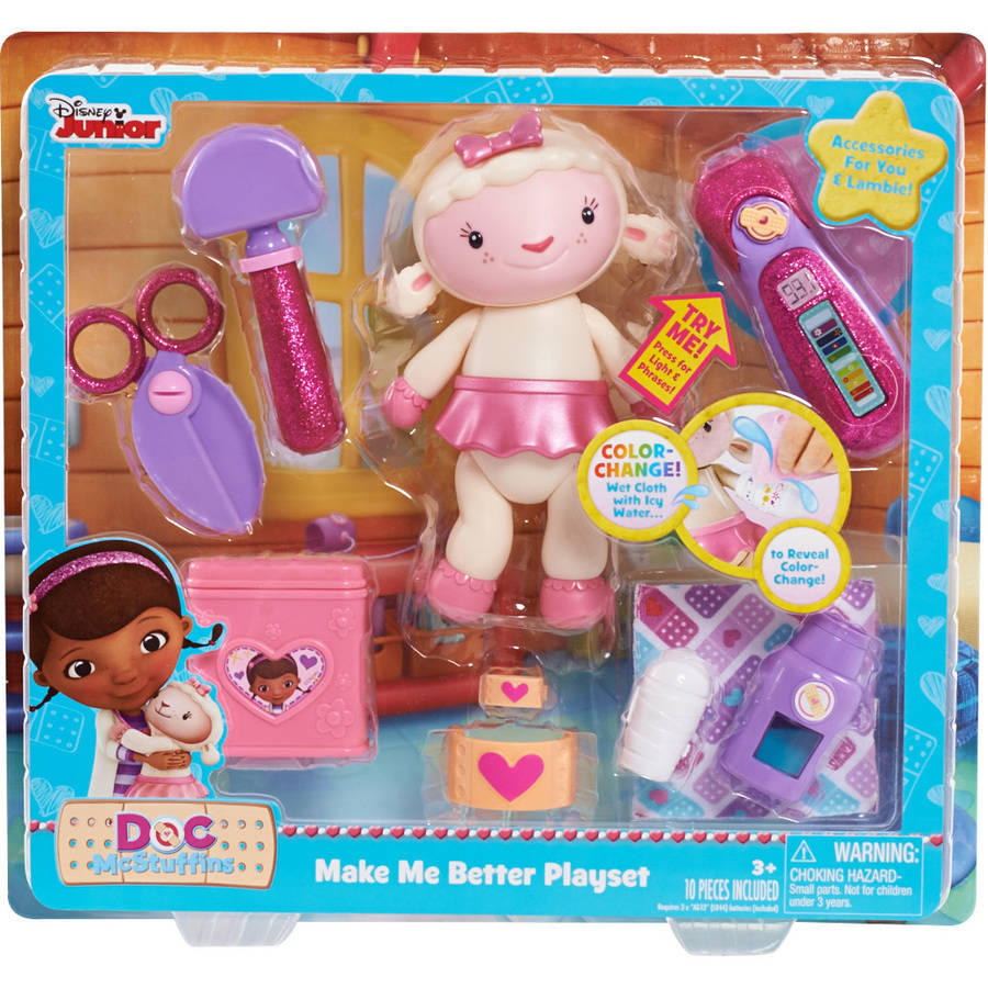Doc McStuffins Make Me Better Set, Lambie