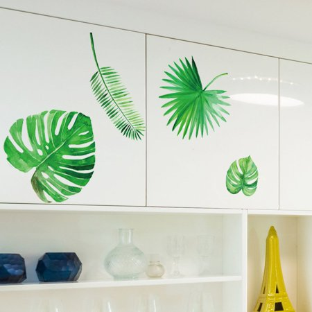 Eco-friendly Plant Leaves Wall Stickers Decal Decor Exquisite Wall Stickers - image 4 of 4