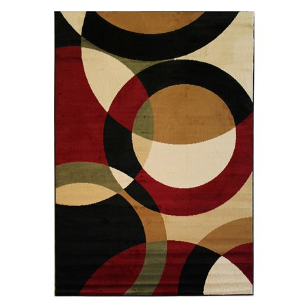 Reed Runner (Well Woven Dulcet Bingo Modern Runner Rug, Red, 2' x 7'3