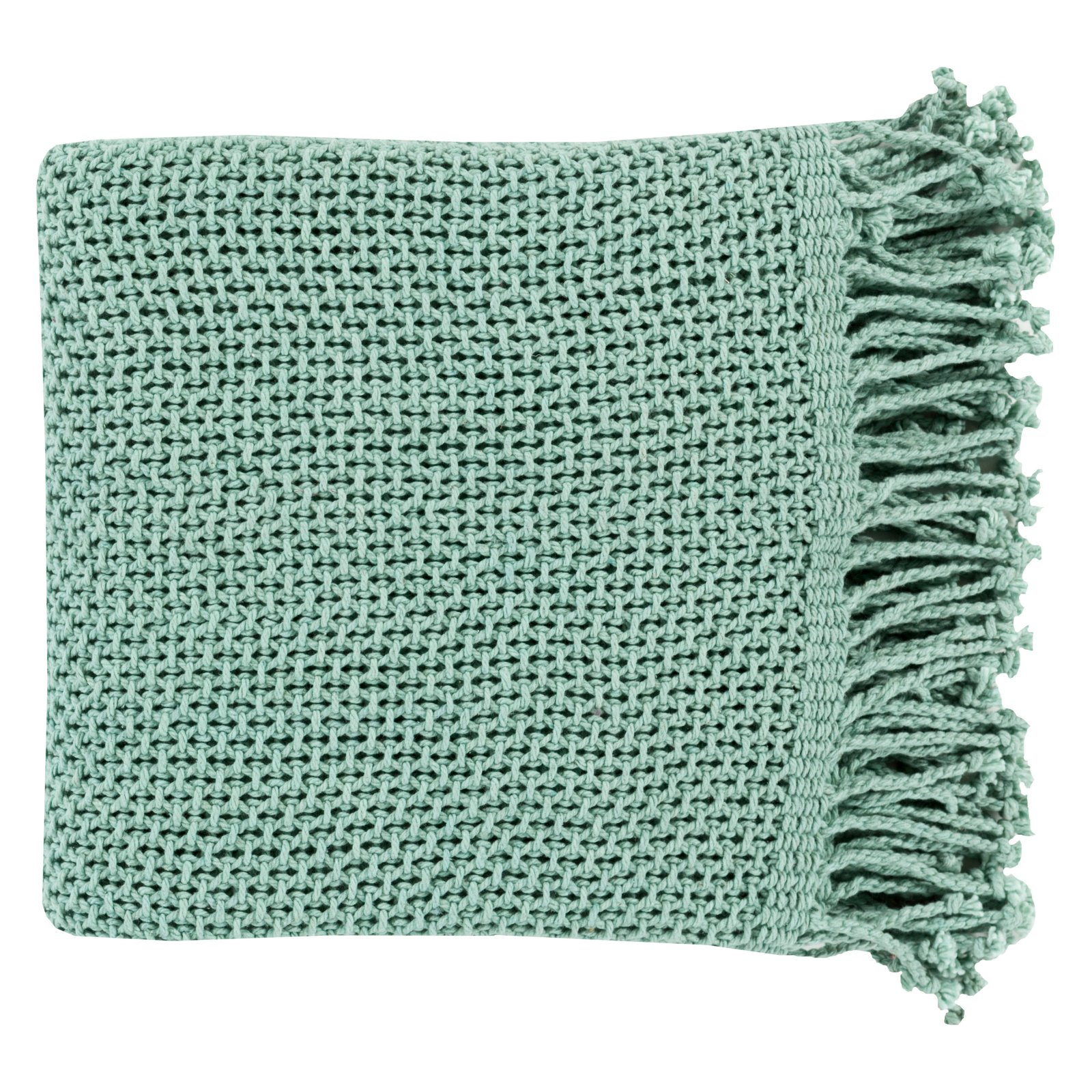 Surya Tibey Cotton Throw Blanket