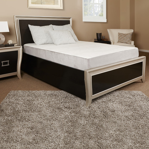 Luxury Solutions 8'' Gel Memory Foam Mattress