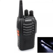Ktaxon 1pc Baofeng BF-888S UHF 400-470Mhz Handheld Walkie Talkie Radios 888S Black