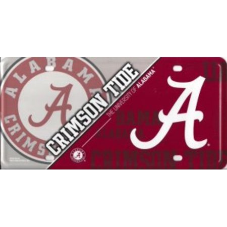 Alabama Crimson Tide Metal License Plate