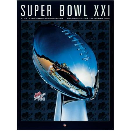 Broncos Canvas - 1987 Giants vs Broncos 36