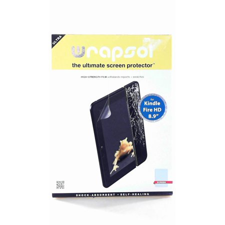 WrapSol The Ultimate Screen Protector For Kindle Fire HD 8.9