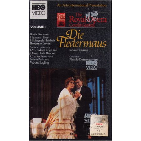 Die Set Garden - Die Fledermaus Johann Strauss Royal Opera Covent Garden VHS Box Set Vol. 1 and 2 - (New / Sealed) - 2 HBO Tapes