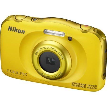 Nikon COOLPIX W100 Digital Camera (Yellow) (Camera Not Work)