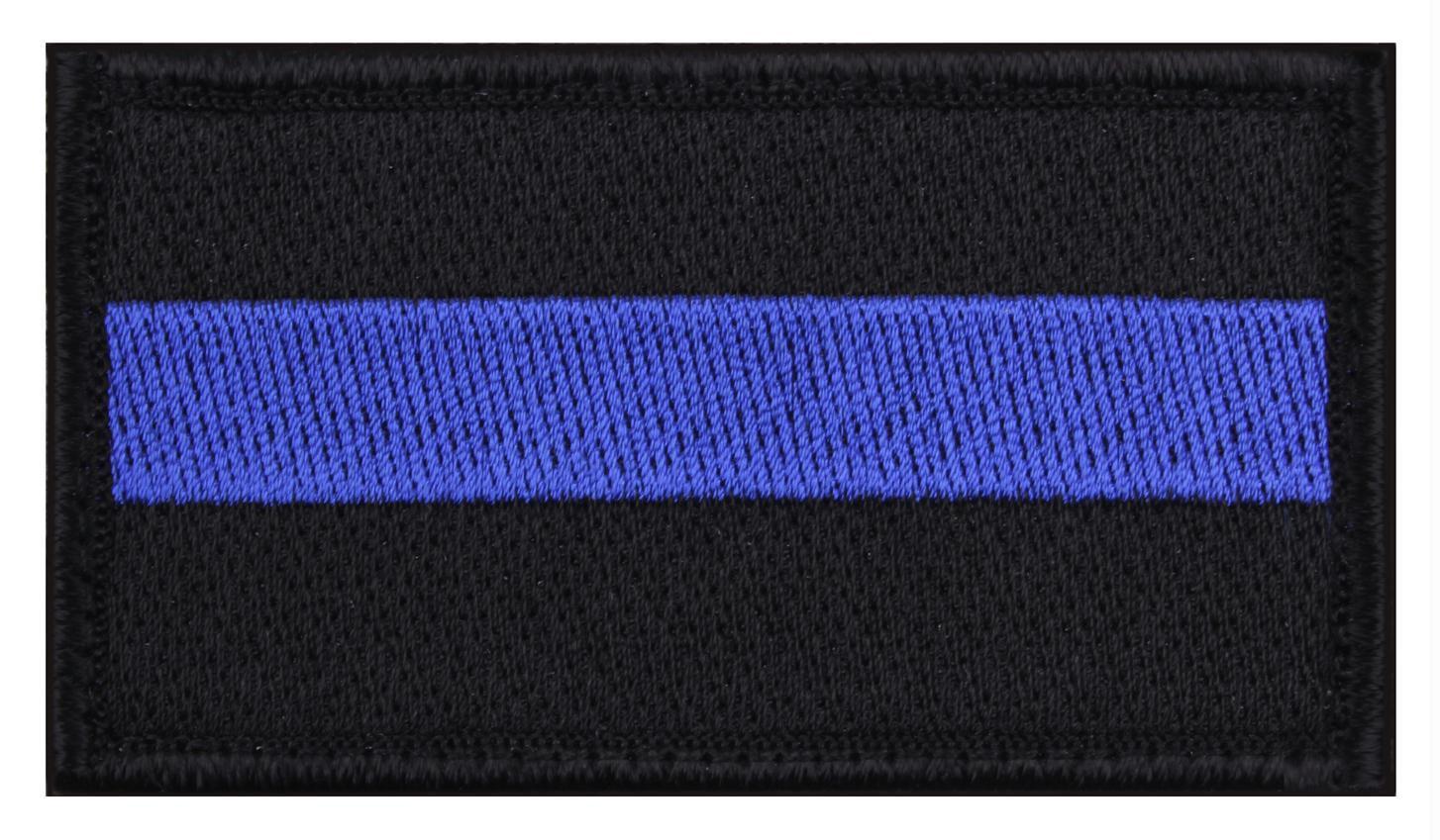 Rothco Thin Blue Line Flag Patch 16b0f91408d