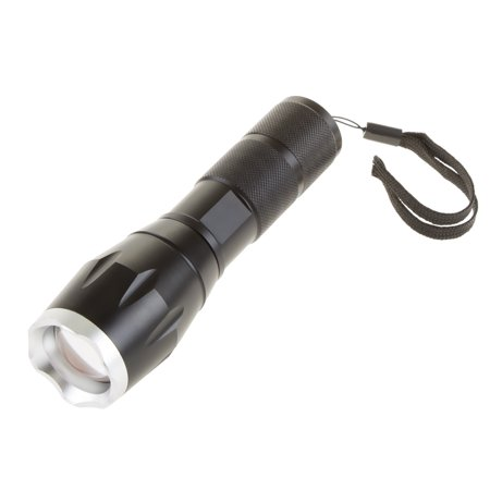 (Tactical Flashlight- Heavy Duty 1000 Lumen LED CREE Light with 5 Modes and Zoomable Lense for Emergency, Hiking, Camping, Hunting by Stalwart)