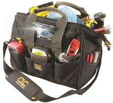 Clc Tech Gear Led Lighted 14 In. Bigmouth Tool Bag