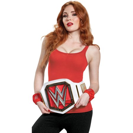 WWE Womens Champion Adult Costume Kit - Wwe Adult Costumes