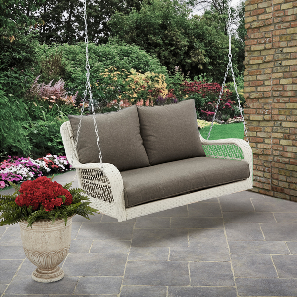 Better Homes and Gardens Colebrook Outdoor Porch Swing