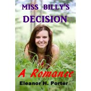 Miss Billy's Decision - eBook