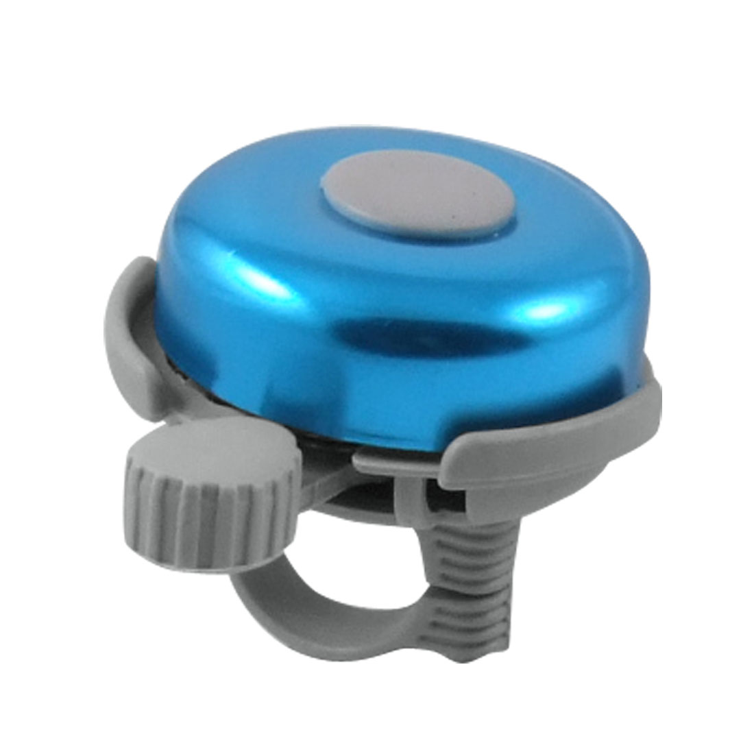 "Cyan Gray Round Plastic 0.87"" Handlebar Bicycle Bell Alarm"