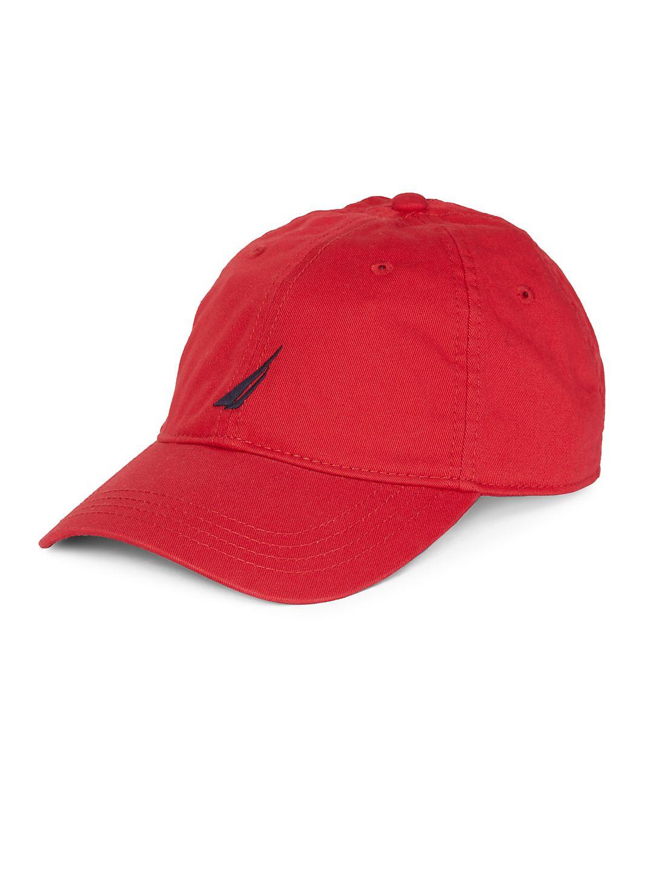 Logo-Embroidered Baseball Hat