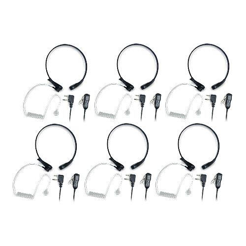 Midland AVP-H8 Throat Mic (6 Pack) Action Throat Mic