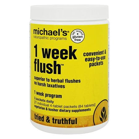Michael's Naturopathic Programs - 1 semaine Flush - 21 Packet (s)