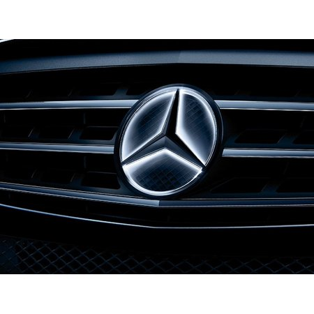 Genuine Mercedes Illuminated Star For The E Class Coupe Cabriolet C A207 And Glk X204 With Full Time Illumination