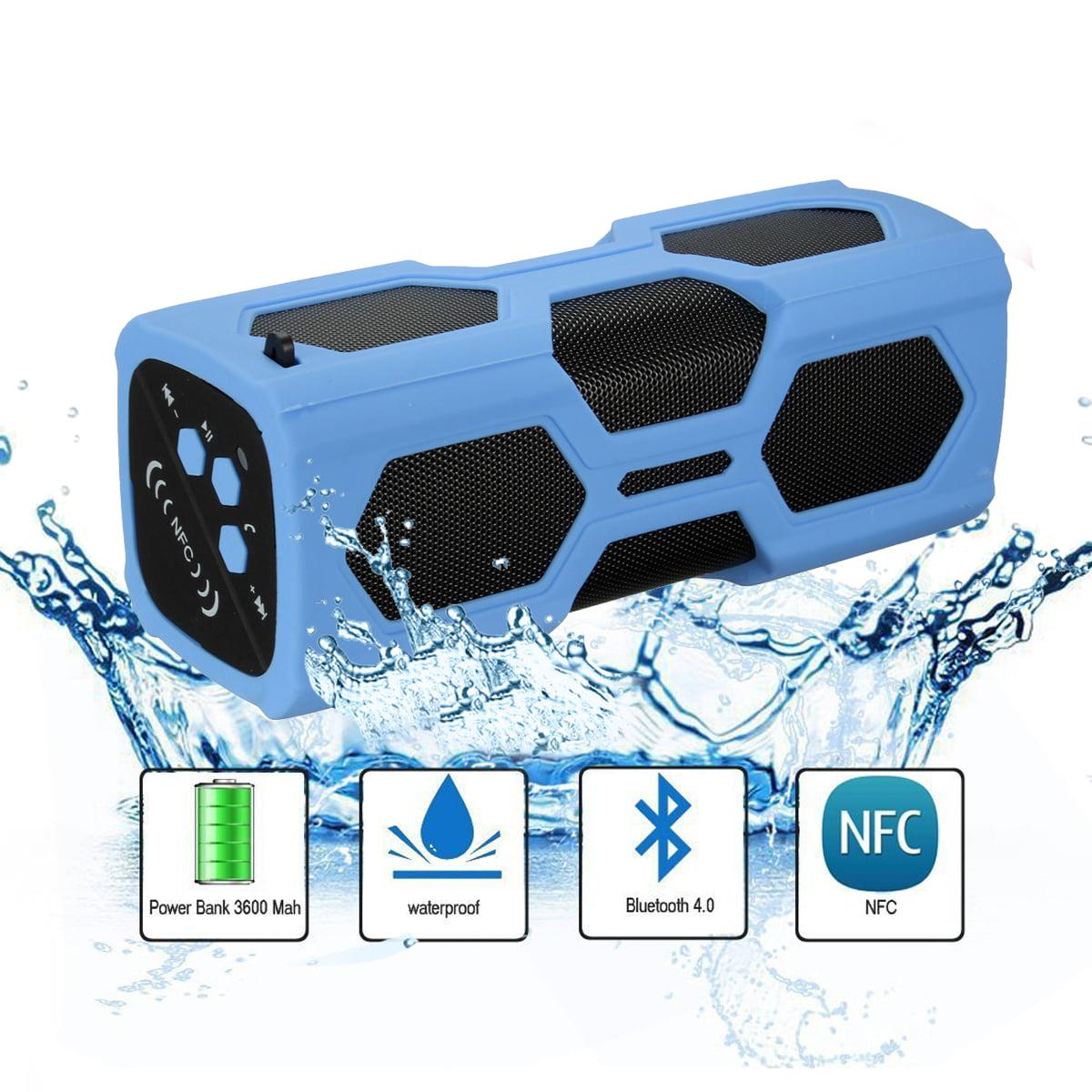 ELEGIANT Bluetooth Speaker - Rechargeable Power Bank - NFC Outdoor Wireless Waterproof SUPER BASS