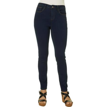 Earl Jean Womens Skinny Ankle Soft Jeans