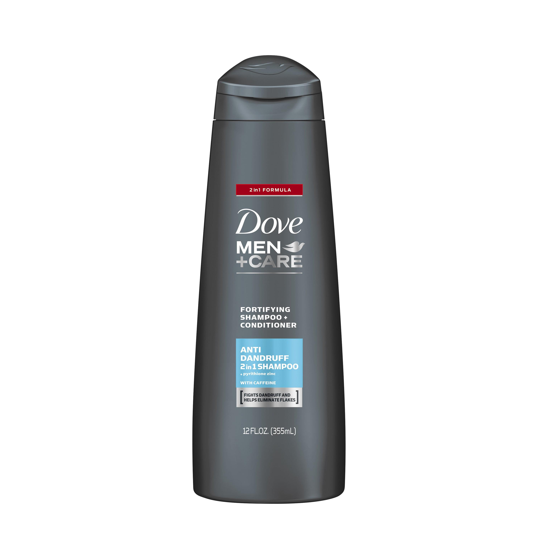 Dove Men+Care 2 in 1 Shampoo and Conditioner Anti Dandruff 12 oz