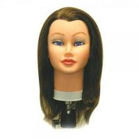 Celebrity Sam II Cosmetology Human Hair Manikin, Brown