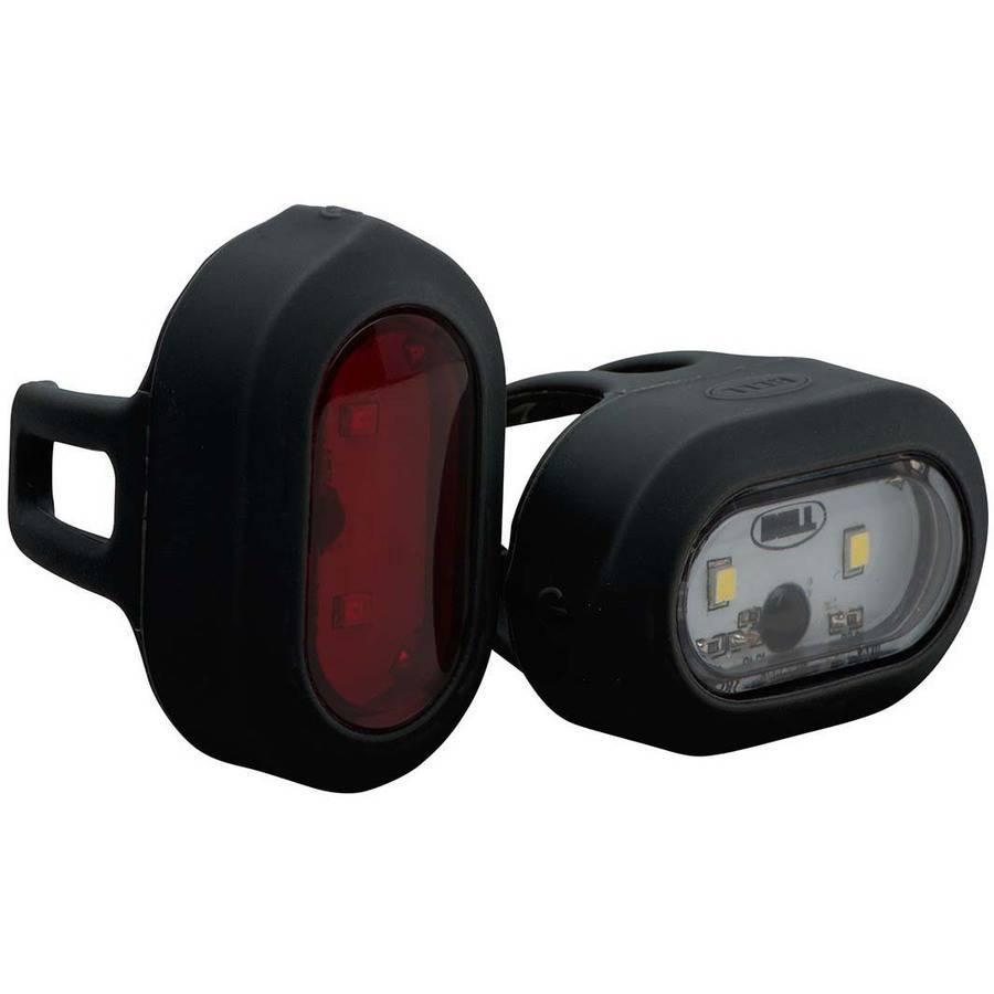 Bell Sports Meteor 550 Twin LED Headlight/Taillight Set, Black