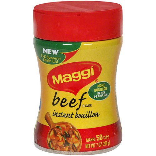Maggi Beef Flavor Bouillon, 7 oz (Pack of 12)