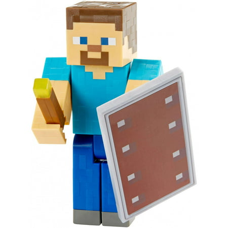Minecraft Defend And Discover Steve Basic Figure - Steve Mincraft