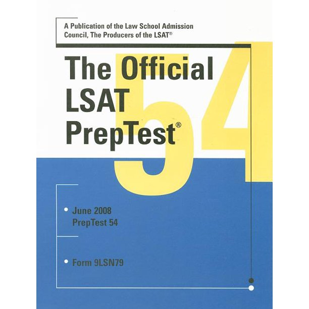 The Official LSAT PrepTest : Form 9LSN79