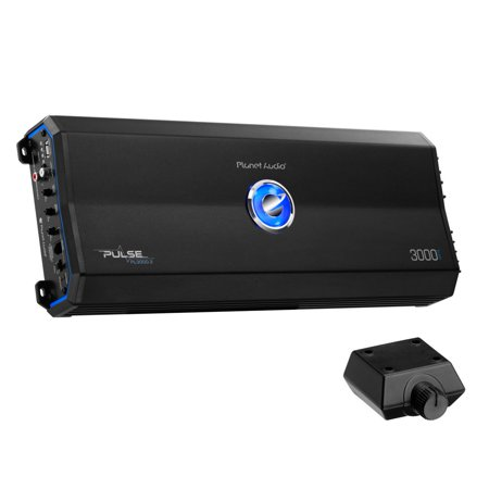 Planet Audio PL3000.2 Pulse Series 2-Channel MOSFET Class AB Amp (3,000 Watts)