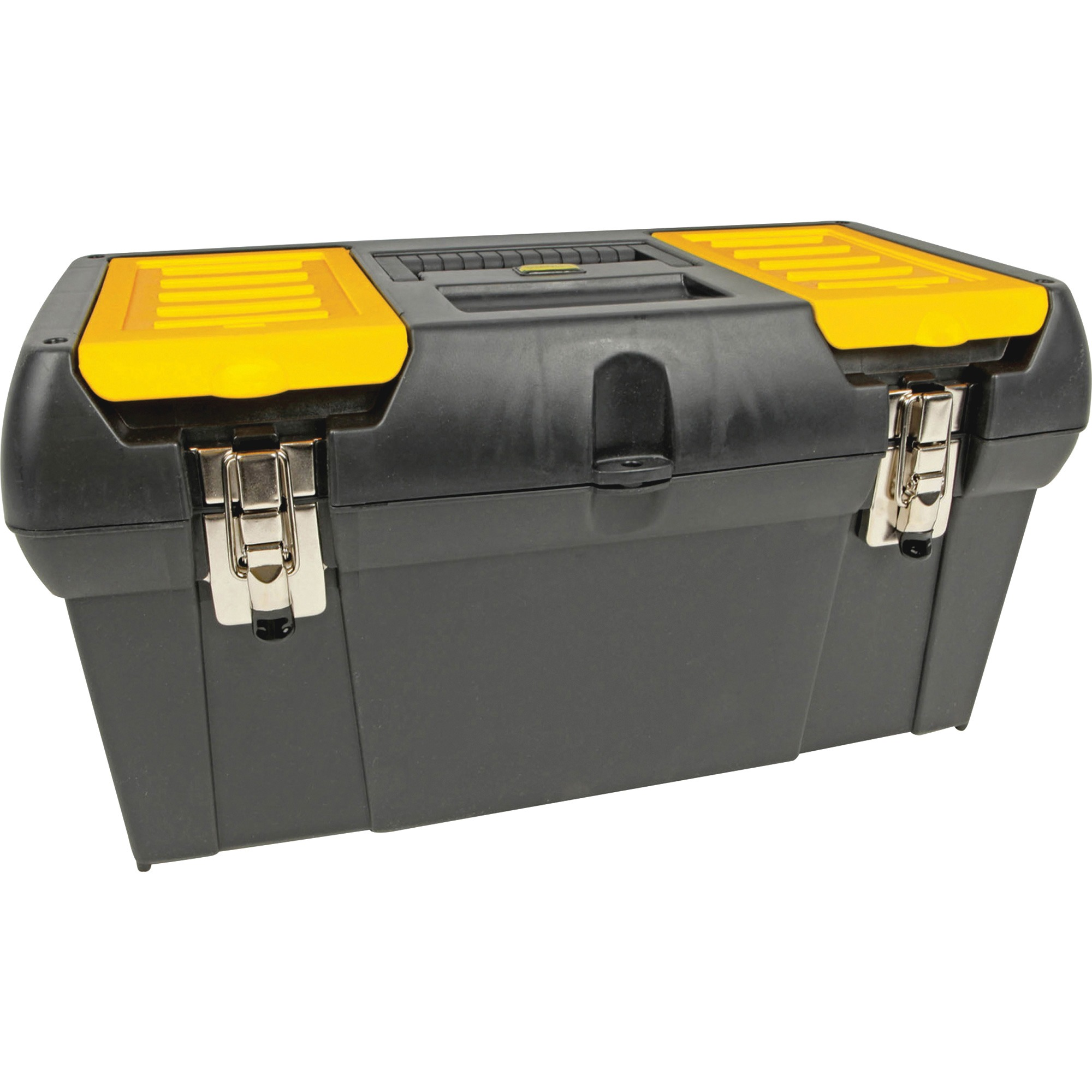 Stanley Series 2000 Toolbox w/Tray, Two Lid Compartments