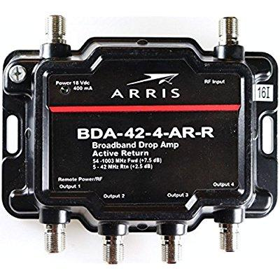 arris 4-port (formerly motorola k-4) cable, modem, tv, ot...
