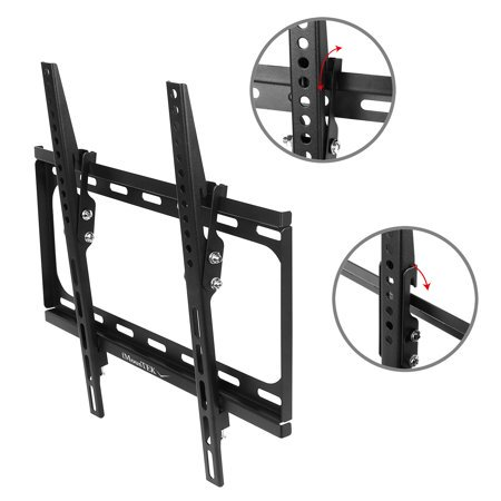 Ymiko Universal TV Wall Mount For 14 to 32 Inches LCD LED Plasma TVs Flat Screen TV Bracket VIZIO Samsung TCL LG
