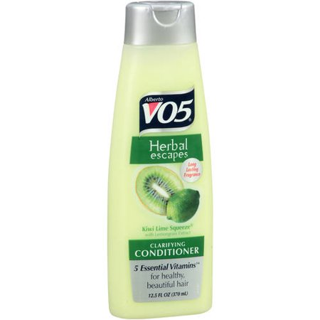 (3 Pack) Alberto VO5 Herbal Escapes Kiwi Lime Squeeze Clarifying Conditioner, 12.5 - Escape Pack