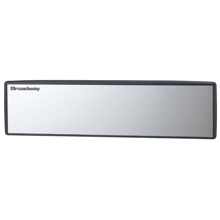 Wide Mirror Flat 300mm Less glaring front surface coated chrome glass
