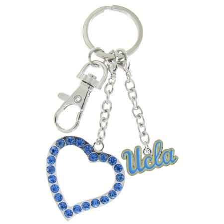 UCLA Love Keychain with Light Blue (Ucla Light)