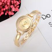 【MIARHB】Rose Gold Plated Women's Elegant Rhinestone Bracelet Fashion Watches D ( watch for women )