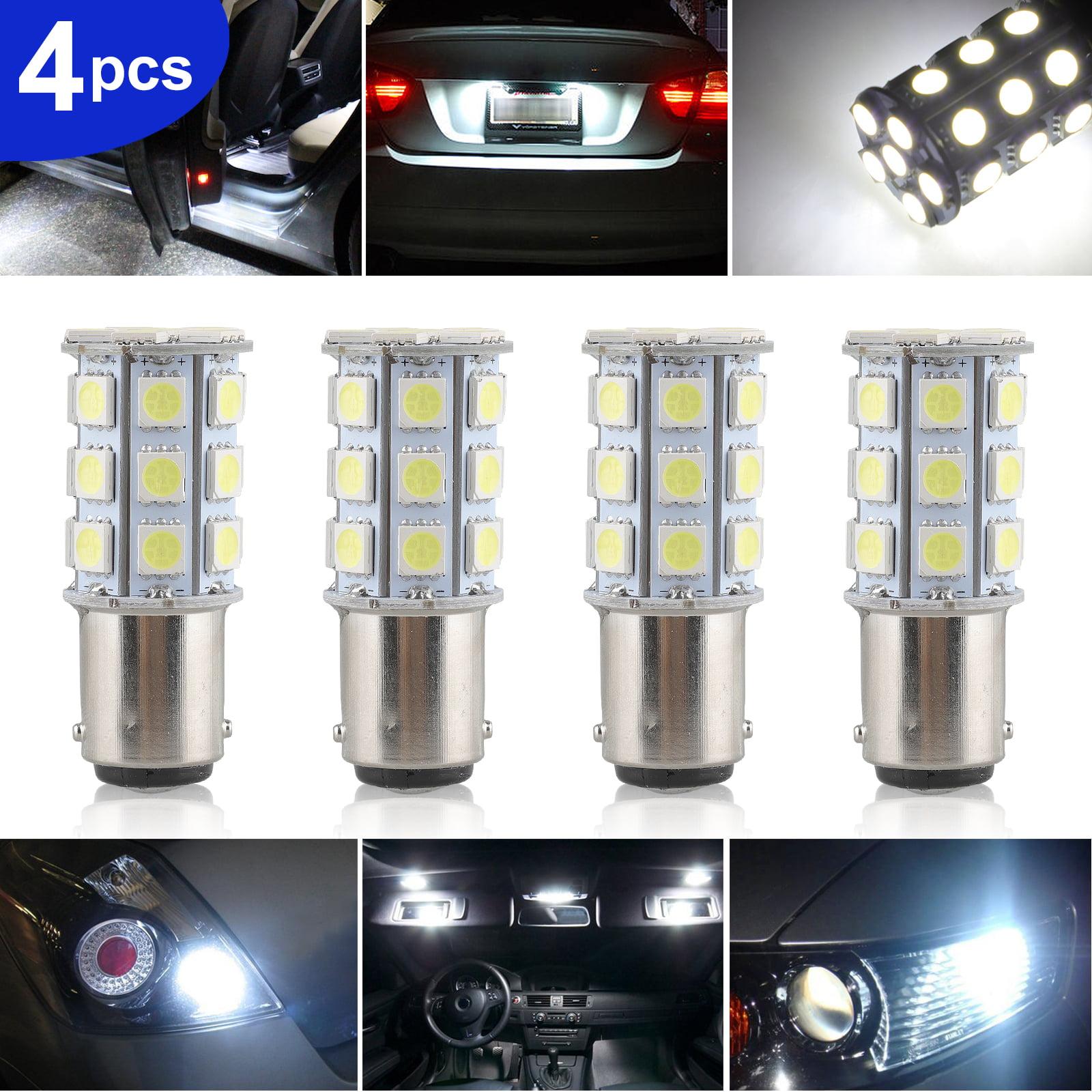 5 pcs White Mini Tiny SMD LED 5050 12V Strip Lights for Honda Motorcycle