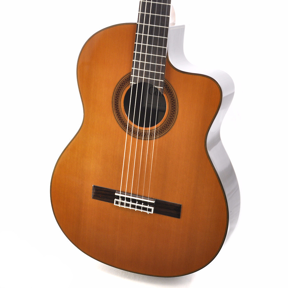 Cordoba C7-CE CD Nylon String Acoustic-Electric Classical Guitar by Cordoba