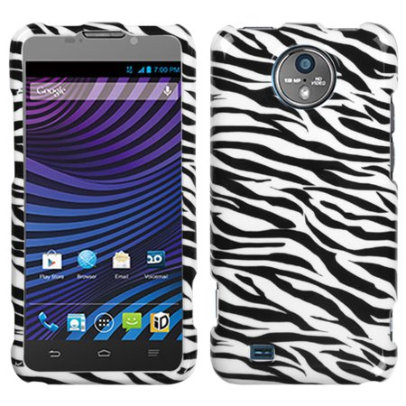 For N9810 Vital Zebra Skin Hard Snap On Phone Protector Cover -