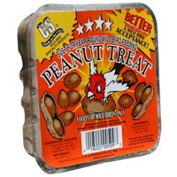 (6 pack) C&S Suet Peanut Treat