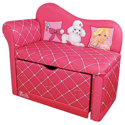 Barbie Glam Storage Chaise Lounge, Pink
