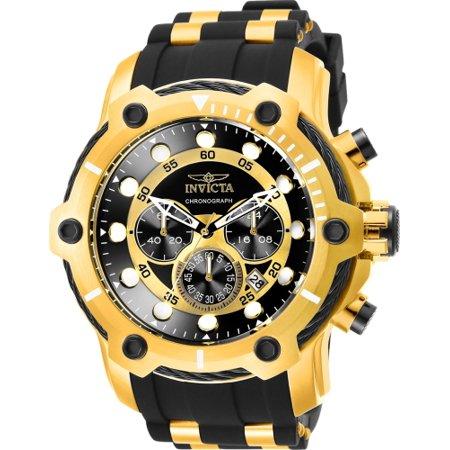 invicta men s 26751 bolt quartz chronograph black dial watch
