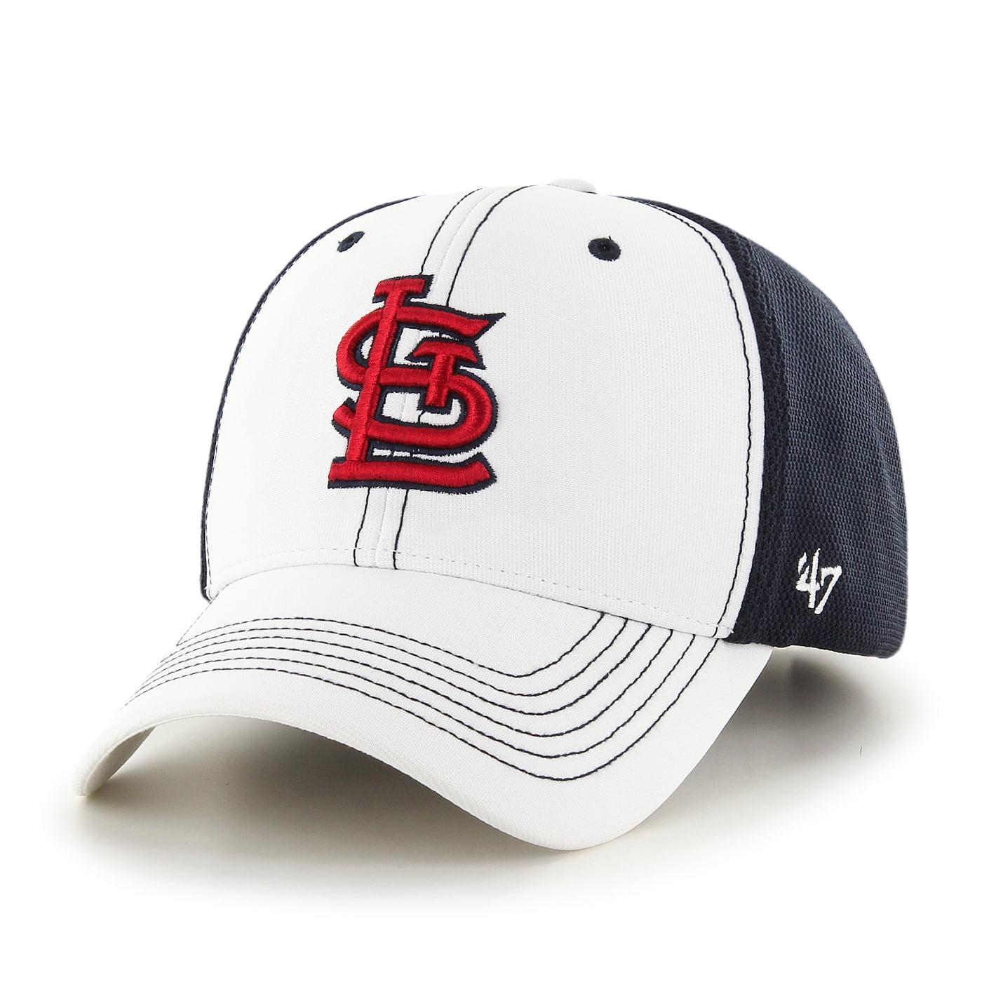 "St. Louis Cardinals 47 Brand MLB ""Cooler MVP"" Structured Adjustable 2 Tone Hat"