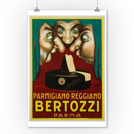 Bertozzi Vintage Poster (artist: Mauzan) Italy c. 1930 (9x12 Art Print, Wall Decor Travel Poster) ()