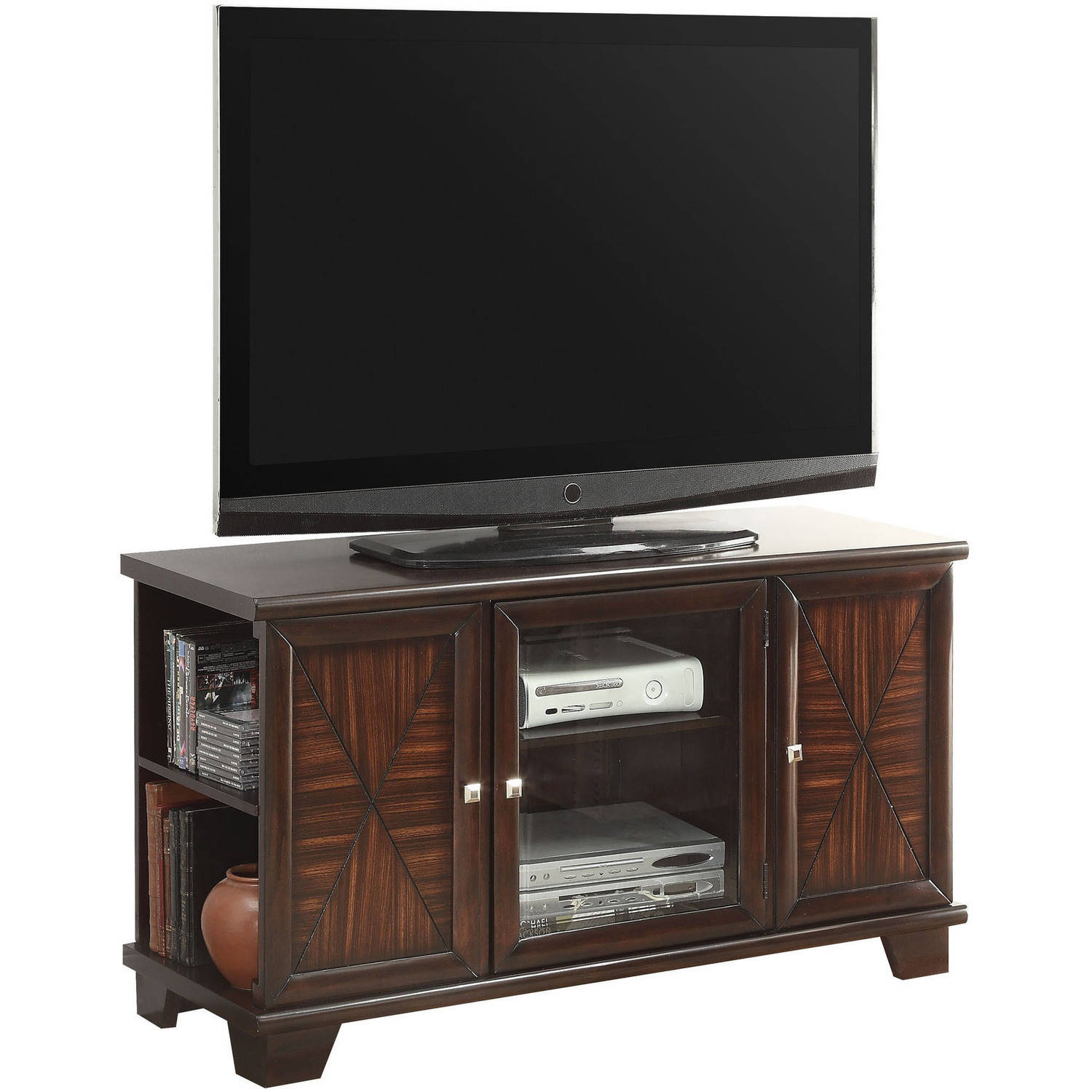 "ACME Austin TV Stand for Flat Screens TVs up to 50"", Cherry"