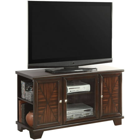 Acme Austin Cherry Tv Stand For Flat Screen Tvs Up To 50