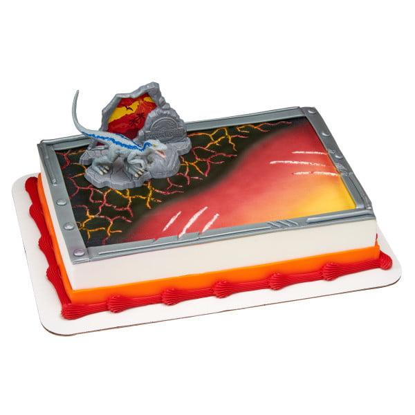 Jurassic World - Fallen Kingdom Cake Topper - Walmart.com
